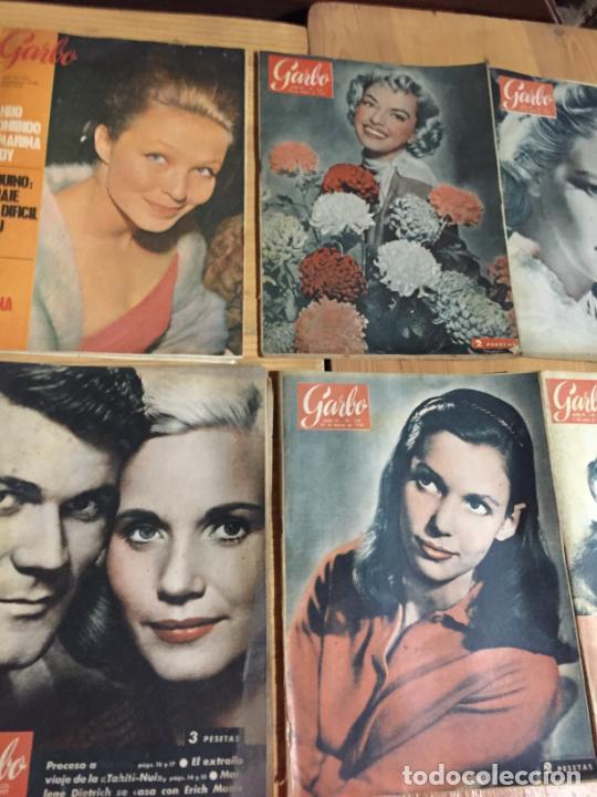 Coleccionismo de Revista Garbo: Antiguo gran lote de 20 revista / revistas Garbo año 1961 varios años - Foto 6 - 230629160