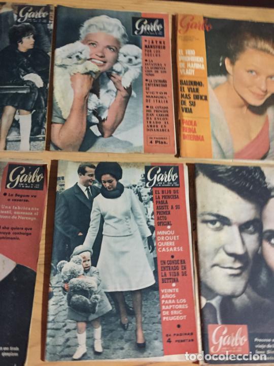 Coleccionismo de Revista Garbo: Antiguo gran lote de 20 revista / revistas Garbo año 1961 varios años - Foto 7 - 230629160