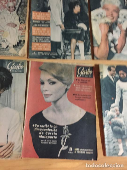 Coleccionismo de Revista Garbo: Antiguo gran lote de 20 revista / revistas Garbo año 1961 varios años - Foto 8 - 230629160