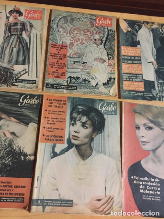 Coleccionismo de Revista Garbo: Antiguo gran lote de 20 revista / revistas Garbo año 1961 varios años - Foto 9 - 230629160