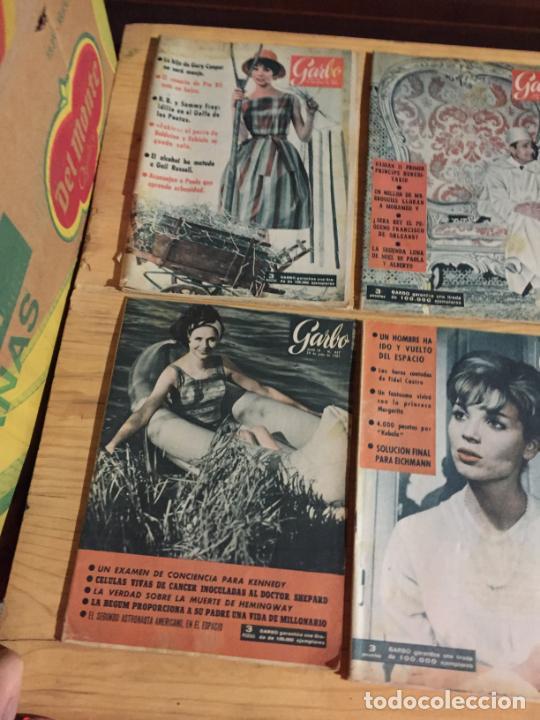 Coleccionismo de Revista Garbo: Antiguo gran lote de 20 revista / revistas Garbo año 1961 varios años - Foto 10 - 230629160