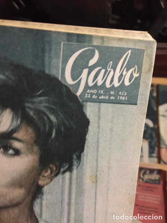 Coleccionismo de Revista Garbo: Antiguo gran lote de 20 revista / revistas Garbo año 1961 varios años - Foto 11 - 230629160