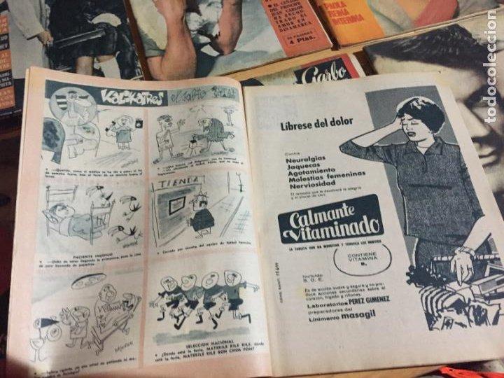 Coleccionismo de Revista Garbo: Antiguo gran lote de 20 revista / revistas Garbo año 1961 varios años - Foto 12 - 230629160