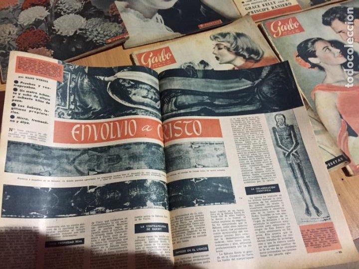 Coleccionismo de Revista Garbo: Antiguo gran lote de 20 revista / revistas Garbo año 1961 varios años - Foto 15 - 230629160