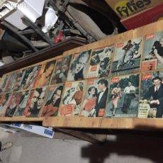 Coleccionismo de Revista Garbo: ANTIGUO GRAN LOTE DE 20 REVISTA / REVISTAS GARBO AÑO 1961 VARIOS AÑOS. Lote 230629160