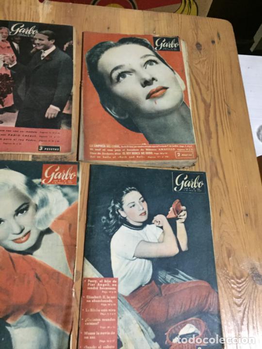 Coleccionismo de Revista Garbo: Antiguo gran lote de 20 revista / revistas Garbo año 1956 varios años - Foto 2 - 230630805