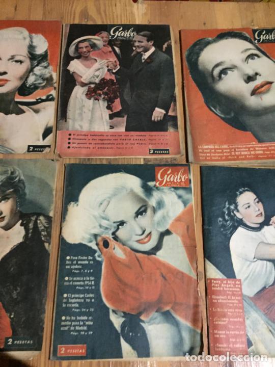 Coleccionismo de Revista Garbo: Antiguo gran lote de 20 revista / revistas Garbo año 1956 varios años - Foto 3 - 230630805