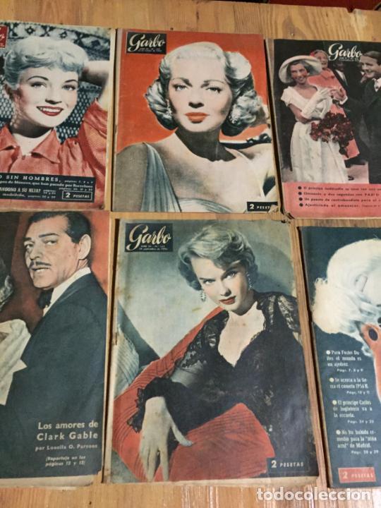 Coleccionismo de Revista Garbo: Antiguo gran lote de 20 revista / revistas Garbo año 1956 varios años - Foto 4 - 230630805