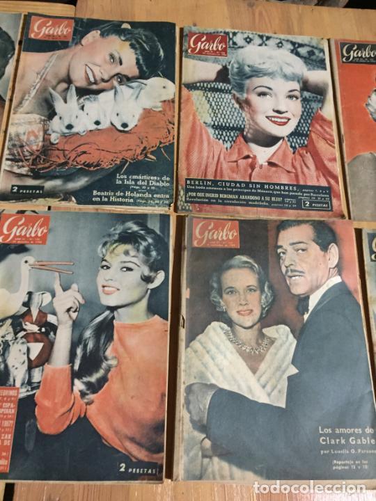Coleccionismo de Revista Garbo: Antiguo gran lote de 20 revista / revistas Garbo año 1956 varios años - Foto 5 - 230630805