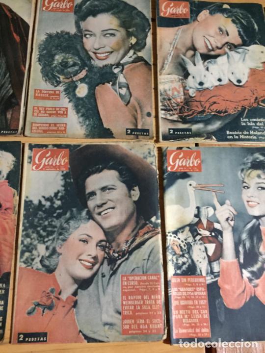 Coleccionismo de Revista Garbo: Antiguo gran lote de 20 revista / revistas Garbo año 1956 varios años - Foto 6 - 230630805