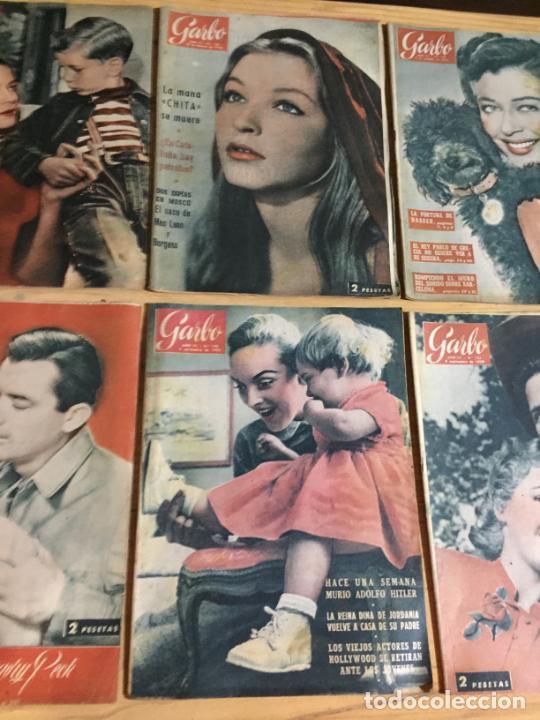 Coleccionismo de Revista Garbo: Antiguo gran lote de 20 revista / revistas Garbo año 1956 varios años - Foto 7 - 230630805