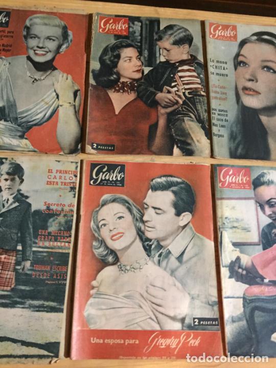 Coleccionismo de Revista Garbo: Antiguo gran lote de 20 revista / revistas Garbo año 1956 varios años - Foto 8 - 230630805