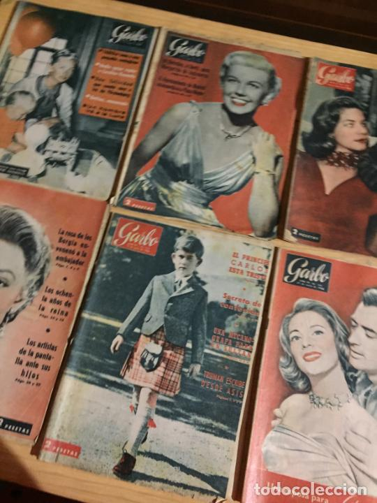 Coleccionismo de Revista Garbo: Antiguo gran lote de 20 revista / revistas Garbo año 1956 varios años - Foto 9 - 230630805