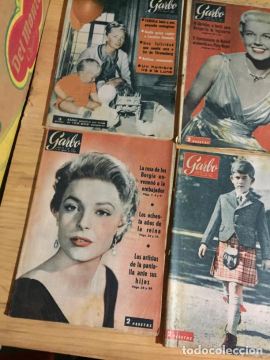 Coleccionismo de Revista Garbo: Antiguo gran lote de 20 revista / revistas Garbo año 1956 varios años - Foto 10 - 230630805