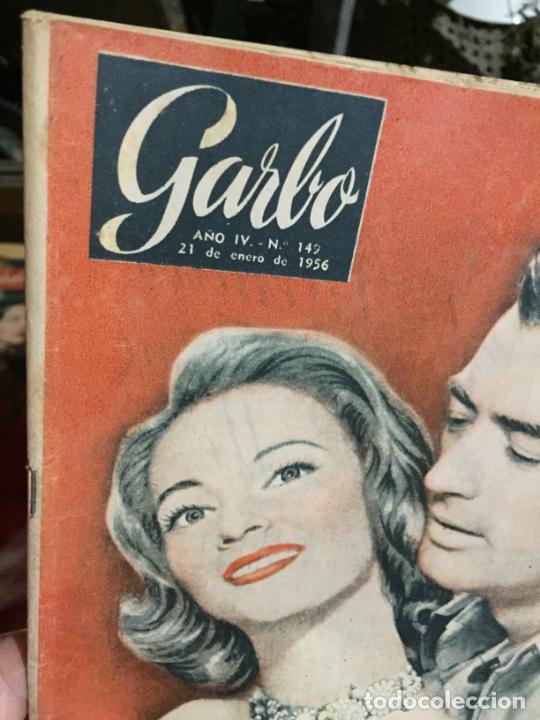 Coleccionismo de Revista Garbo: Antiguo gran lote de 20 revista / revistas Garbo año 1956 varios años - Foto 11 - 230630805