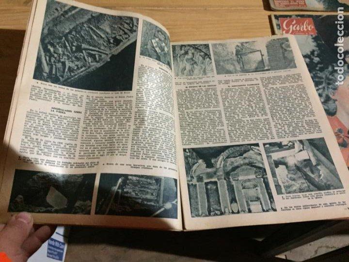Coleccionismo de Revista Garbo: Antiguo gran lote de 20 revista / revistas Garbo año 1956 varios años - Foto 12 - 230630805