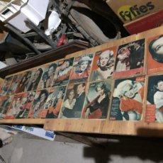 Coleccionismo de Revista Garbo: ANTIGUO GRAN LOTE DE 20 REVISTA / REVISTAS GARBO AÑO 1956 VARIOS AÑOS. Lote 230630805
