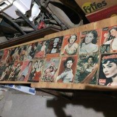 Coleccionismo de Revista Garbo: ANTIGUO GRAN LOTE DE 20 REVISTA / REVISTAS GARBO AÑO 1954 VARIOS AÑOS. Lote 230630875