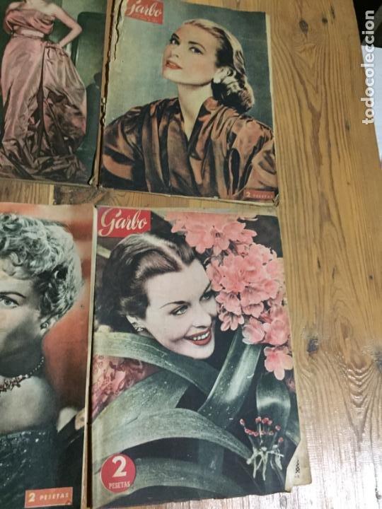 Coleccionismo de Revista Garbo: Antiguo gran lote de 20 revista / revistas Garbo año 1954 varios años - Foto 2 - 230631035
