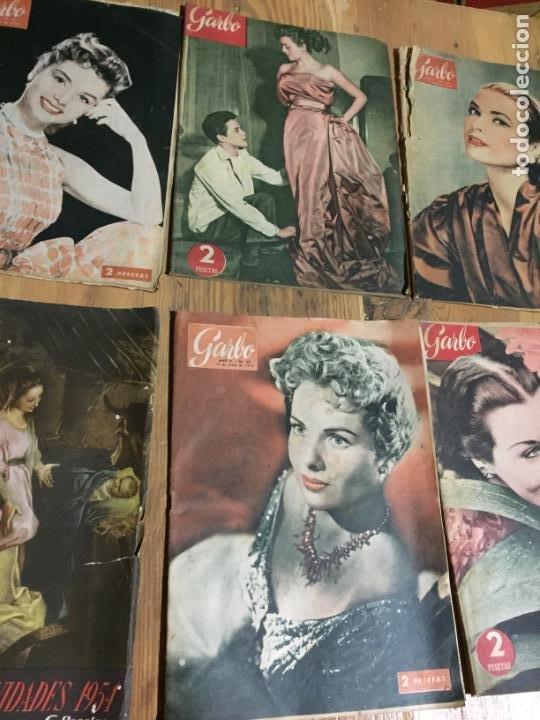 Coleccionismo de Revista Garbo: Antiguo gran lote de 20 revista / revistas Garbo año 1954 varios años - Foto 3 - 230631035