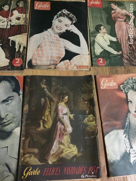 Coleccionismo de Revista Garbo: Antiguo gran lote de 20 revista / revistas Garbo año 1954 varios años - Foto 4 - 230631035