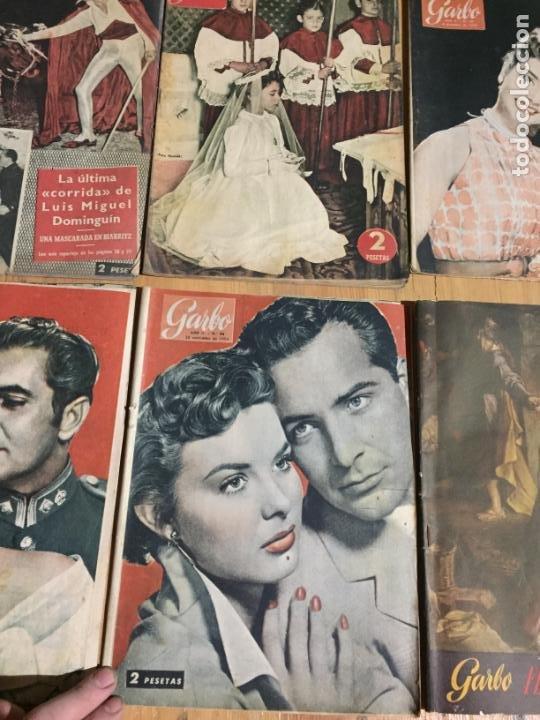 Coleccionismo de Revista Garbo: Antiguo gran lote de 20 revista / revistas Garbo año 1954 varios años - Foto 5 - 230631035