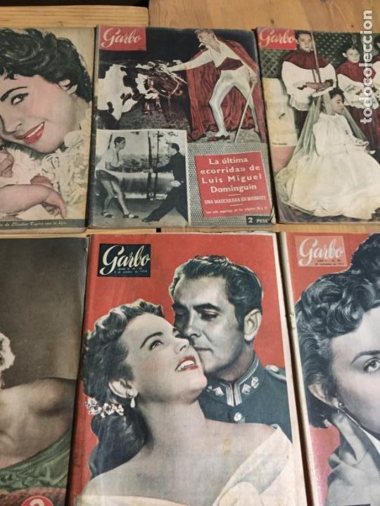 Coleccionismo de Revista Garbo: Antiguo gran lote de 20 revista / revistas Garbo año 1954 varios años - Foto 6 - 230631035