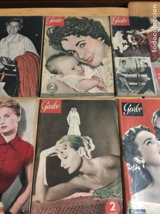 Coleccionismo de Revista Garbo: Antiguo gran lote de 20 revista / revistas Garbo año 1954 varios años - Foto 7 - 230631035