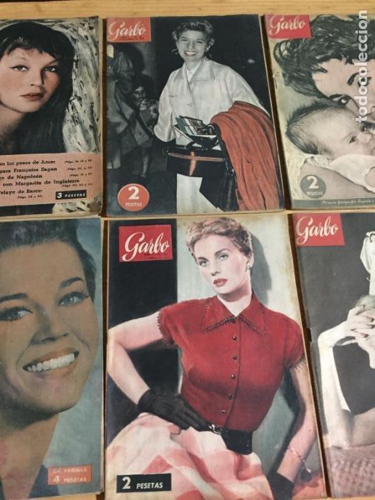 Coleccionismo de Revista Garbo: Antiguo gran lote de 20 revista / revistas Garbo año 1954 varios años - Foto 8 - 230631035