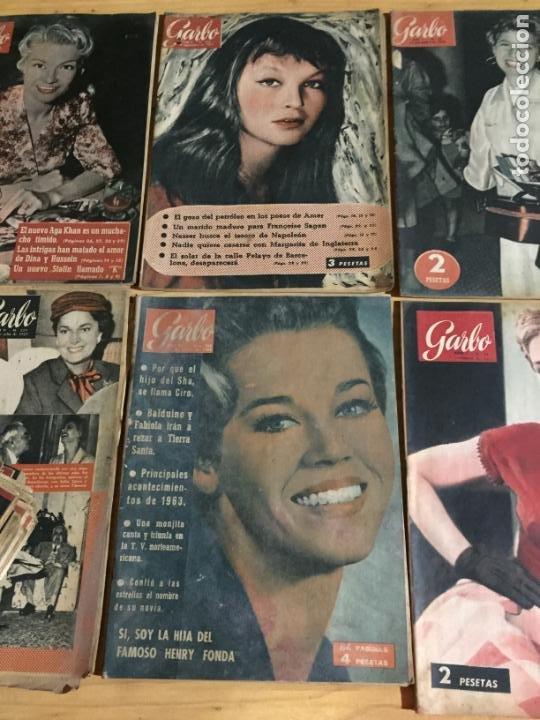 Coleccionismo de Revista Garbo: Antiguo gran lote de 20 revista / revistas Garbo año 1954 varios años - Foto 9 - 230631035