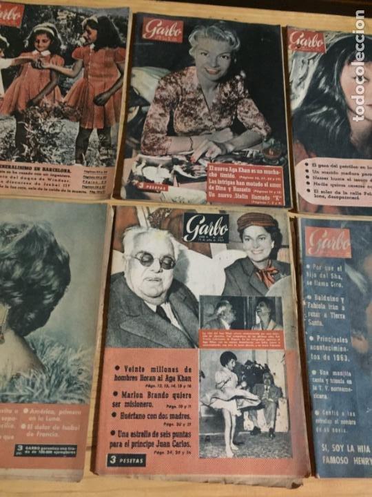 Coleccionismo de Revista Garbo: Antiguo gran lote de 20 revista / revistas Garbo año 1954 varios años - Foto 10 - 230631035