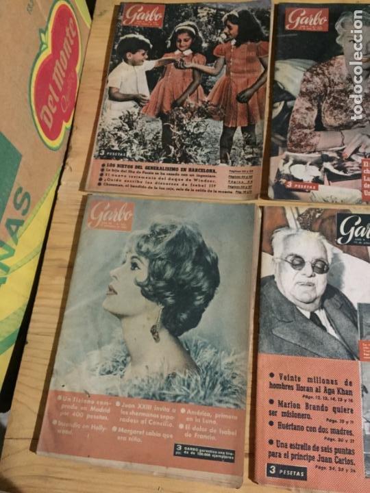 Coleccionismo de Revista Garbo: Antiguo gran lote de 20 revista / revistas Garbo año 1954 varios años - Foto 11 - 230631035