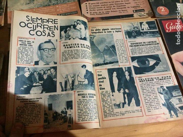Coleccionismo de Revista Garbo: Antiguo gran lote de 20 revista / revistas Garbo año 1954 varios años - Foto 13 - 230631035