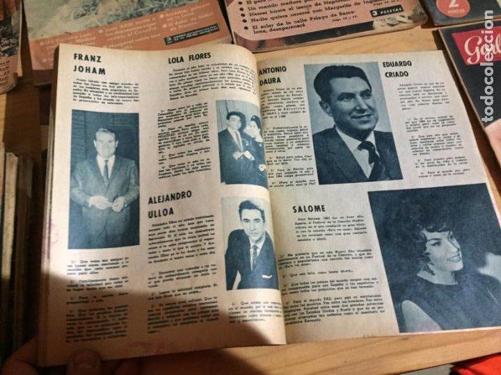 Coleccionismo de Revista Garbo: Antiguo gran lote de 20 revista / revistas Garbo año 1954 varios años - Foto 14 - 230631035