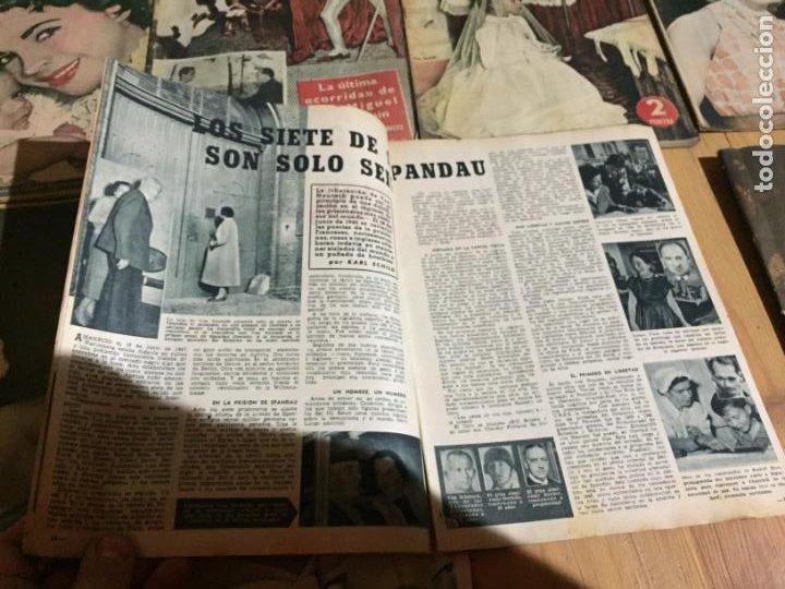 Coleccionismo de Revista Garbo: Antiguo gran lote de 20 revista / revistas Garbo año 1954 varios años - Foto 16 - 230631035