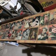 Coleccionismo de Revista Garbo: ANTIGUO GRAN LOTE DE 20 REVISTA / REVISTAS GARBO AÑO 1954 VARIOS AÑOS. Lote 230631035