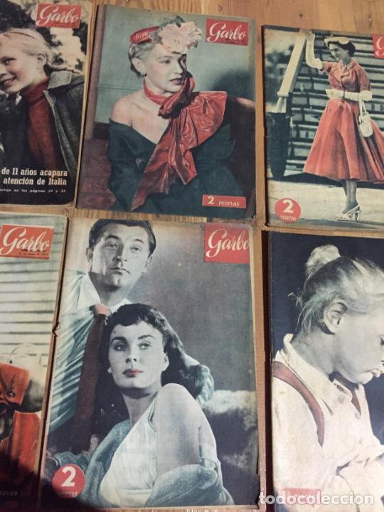 Coleccionismo de Revista Garbo: Antiguo gran lote de 20 revista / revistas Garbo año 1956 varios años - Foto 3 - 230631280