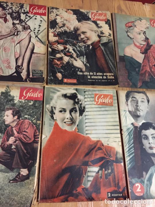 Coleccionismo de Revista Garbo: Antiguo gran lote de 20 revista / revistas Garbo año 1956 varios años - Foto 4 - 230631280