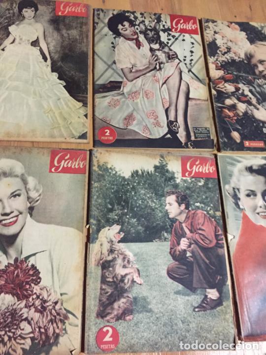 Coleccionismo de Revista Garbo: Antiguo gran lote de 20 revista / revistas Garbo año 1956 varios años - Foto 5 - 230631280