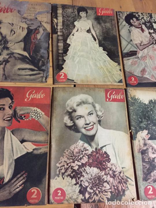 Coleccionismo de Revista Garbo: Antiguo gran lote de 20 revista / revistas Garbo año 1956 varios años - Foto 6 - 230631280
