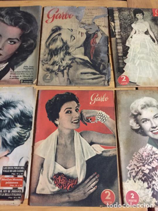 Coleccionismo de Revista Garbo: Antiguo gran lote de 20 revista / revistas Garbo año 1956 varios años - Foto 7 - 230631280