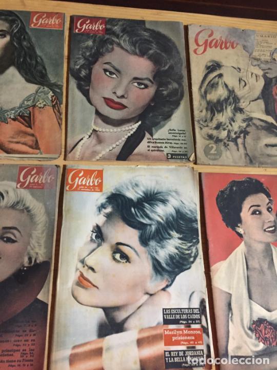 Coleccionismo de Revista Garbo: Antiguo gran lote de 20 revista / revistas Garbo año 1956 varios años - Foto 8 - 230631280