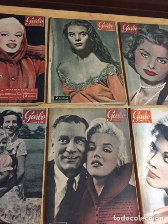 Coleccionismo de Revista Garbo: Antiguo gran lote de 20 revista / revistas Garbo año 1956 varios años - Foto 9 - 230631280