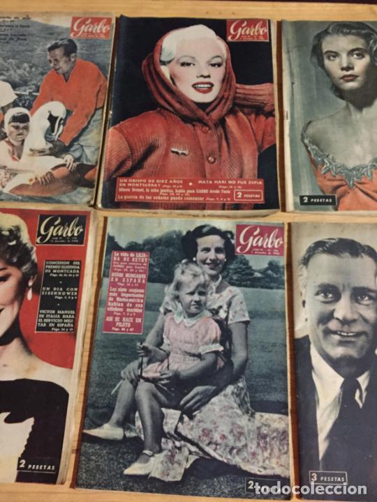 Coleccionismo de Revista Garbo: Antiguo gran lote de 20 revista / revistas Garbo año 1956 varios años - Foto 10 - 230631280