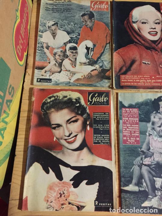 Coleccionismo de Revista Garbo: Antiguo gran lote de 20 revista / revistas Garbo año 1956 varios años - Foto 11 - 230631280