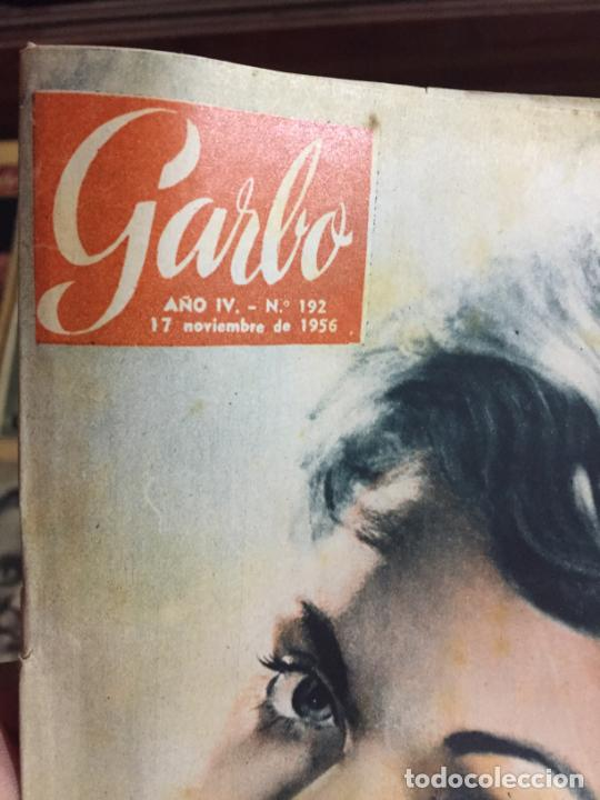 Coleccionismo de Revista Garbo: Antiguo gran lote de 20 revista / revistas Garbo año 1956 varios años - Foto 12 - 230631280