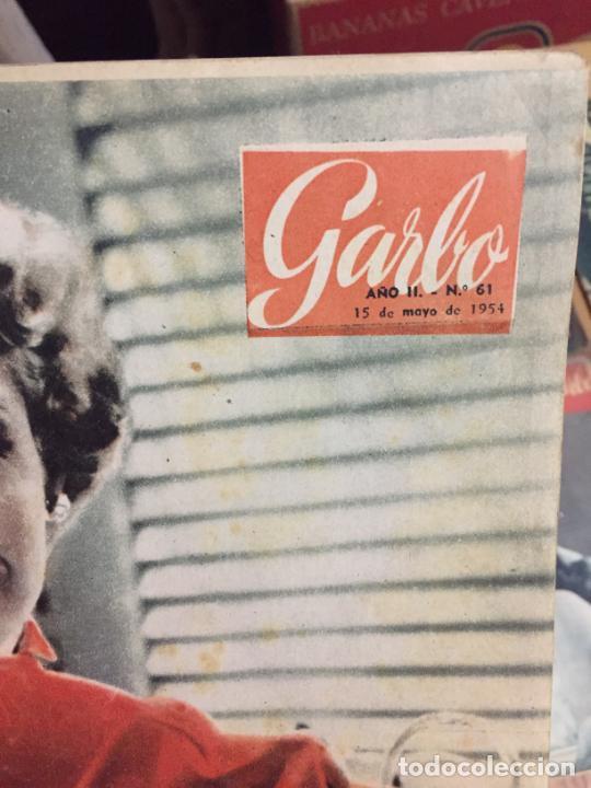Coleccionismo de Revista Garbo: Antiguo gran lote de 20 revista / revistas Garbo año 1956 varios años - Foto 15 - 230631280