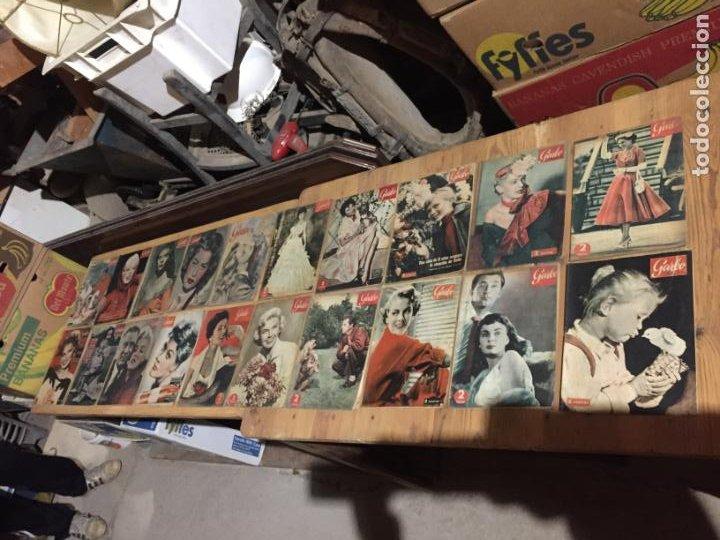 ANTIGUO GRAN LOTE DE 20 REVISTA / REVISTAS GARBO AÑO 1956 VARIOS AÑOS (Coleccionismo - Revistas y Periódicos Modernos (a partir de 1.940) - Revista Garbo)