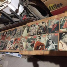 Coleccionismo de Revista Garbo: ANTIGUO GRAN LOTE DE 20 REVISTA / REVISTAS GARBO AÑO 1956 VARIOS AÑOS. Lote 230631280