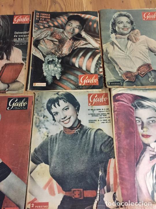 Coleccionismo de Revista Garbo: Antiguo gran lote de 20 revista / revistas Garbo año 1954 varios años - Foto 3 - 230631395